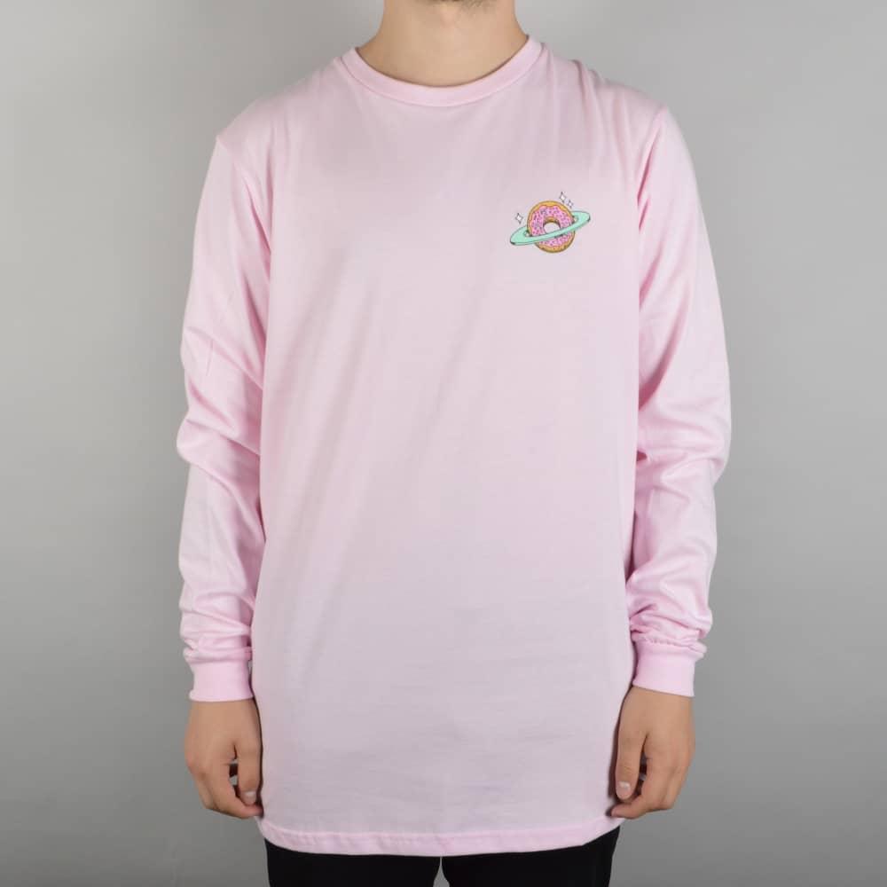 Skateboard Cafe Planet Donut Longsleeve T-Shirt - Pink - SKATE ...