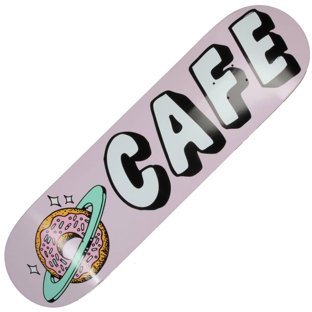 Skateboard Cafe Skateboard Cafe Planet Donut Pink Skateboard Deck 7.75