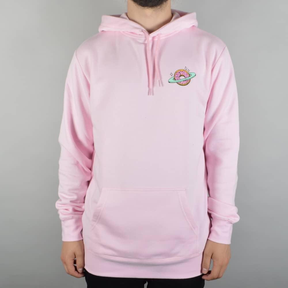 Skateboard Cafe Planet Donut Pullover Hoodie - Pink - SKATE ...