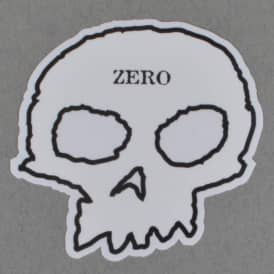 Skull Skateboard Sticker