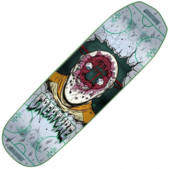 Creature Skateboards Slapshot Small Everslick Skateboard Deck 8.2
