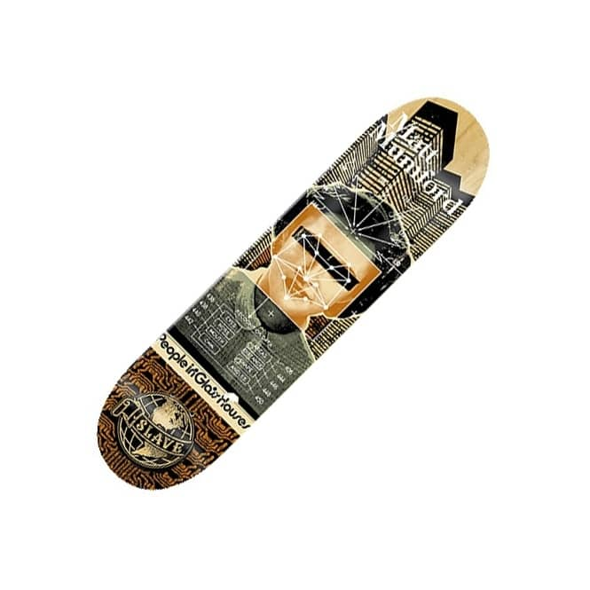 Slave Skateboards Matt Mumford Social Science Skateboard Deck 8.375