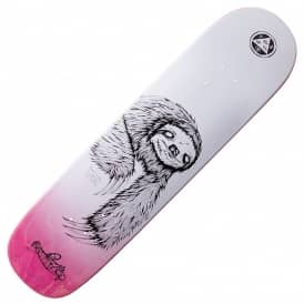 Welcome Skateboards Sloth On Bunyip (Pink Stain) Skateboard Deck 8.0""