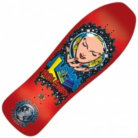 SMA Conroy Crystal Ball Candy Metallic Red Reissue Skateboard Deck - 10.0