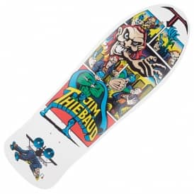 SMA Jim Thiebaud Joker White Reissue Skateboard Deck 10.0