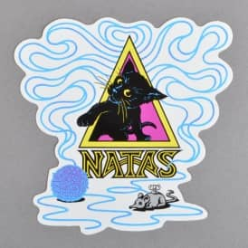 SMA Natas Small Skateboard Sticker - 4