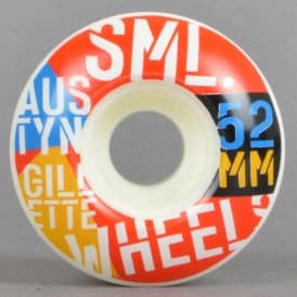 SML Wheels Gillette Commies OG Wide Skateboard Wheels 52mm