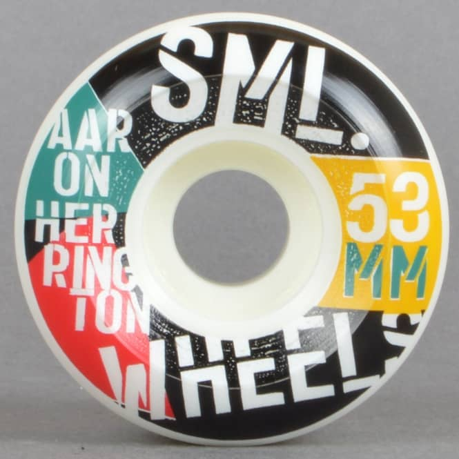 SML Wheels Herrington Commies V Cut Skateboard Wheels 53mm