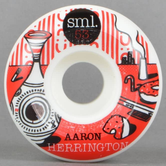 SML Wheels Herrington Elna V Cut Skateboard Wheels 53mm
