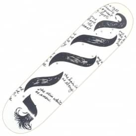 Snow White Skateboard Deck 8.5