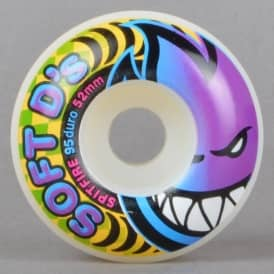 Soft D'd 95A Skateboard Wheels 52mm