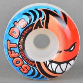 Soft D's 92A Duro Skateboard Wheels 54mm