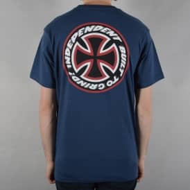 Speed Kills Skate T-Shirt - Navy