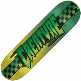 Speedway Large (Green/Yellow) Skateboard Deck 8.8