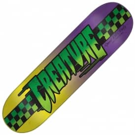 Speedway Medium (Purple/Yellow) Skateboard Deck 8.25