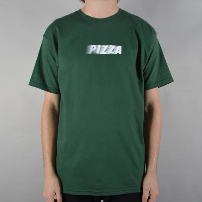 Pizza Skateboards Speedy Skate T-Shirt - Green