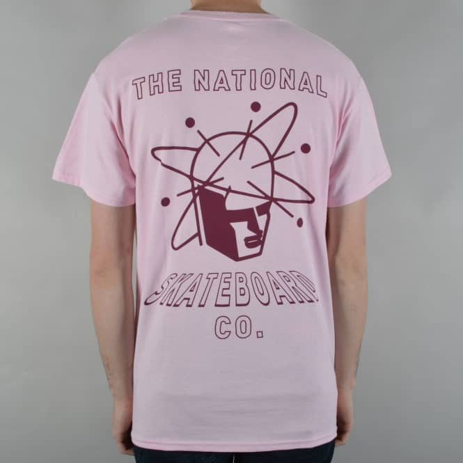The National Skateboard Co. SPIN Skate T-Shirt - Pink