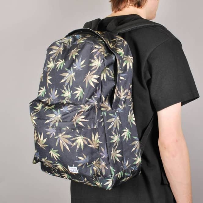 Spiral Backpacks Grass Camouflage Backpack - Black/Camo