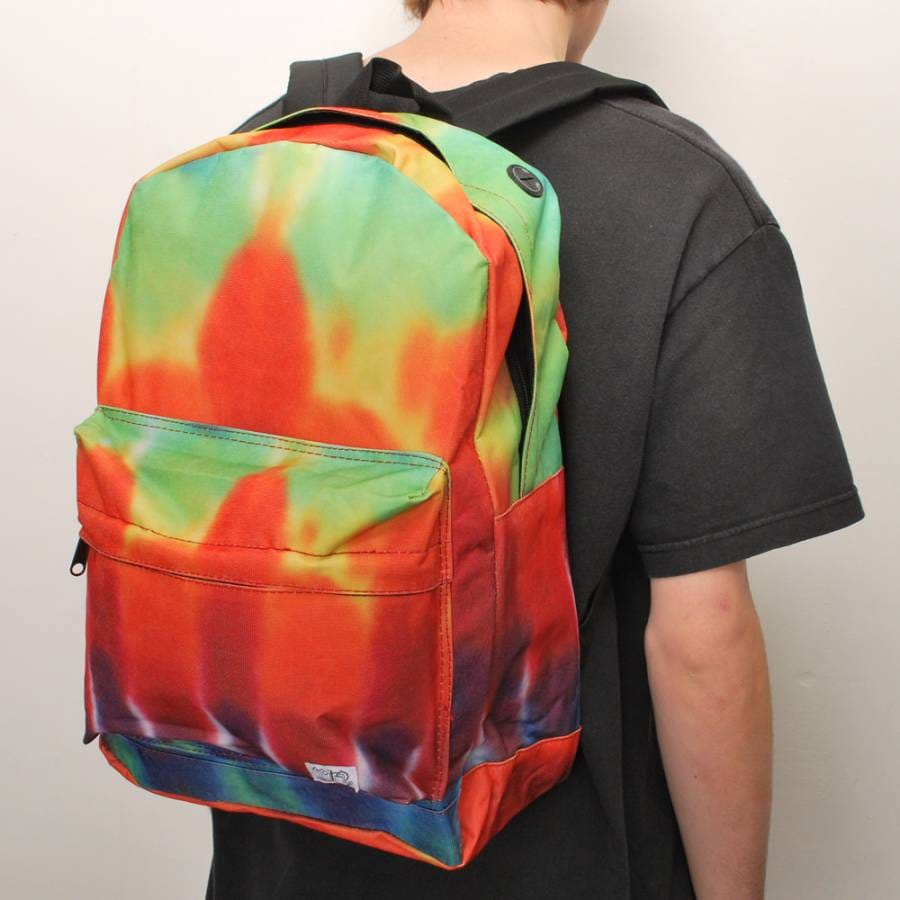spiral backpacks spiral tie dye carnival backpack tye