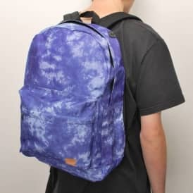 Spiral Tie Dye Navy Backpack - Navy Blue