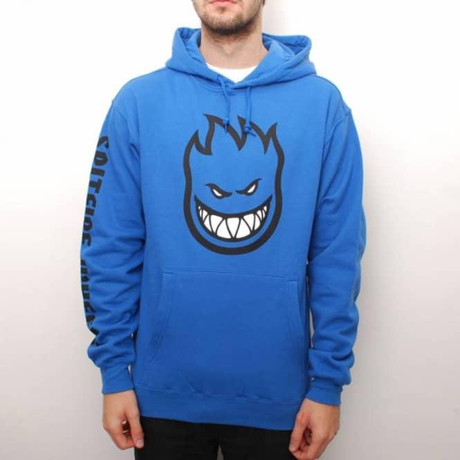spitfire sweatshirt. spitfire wheels bighead fill pullover hoodie - royal blue hooded tops from native skate store uk sweatshirt c