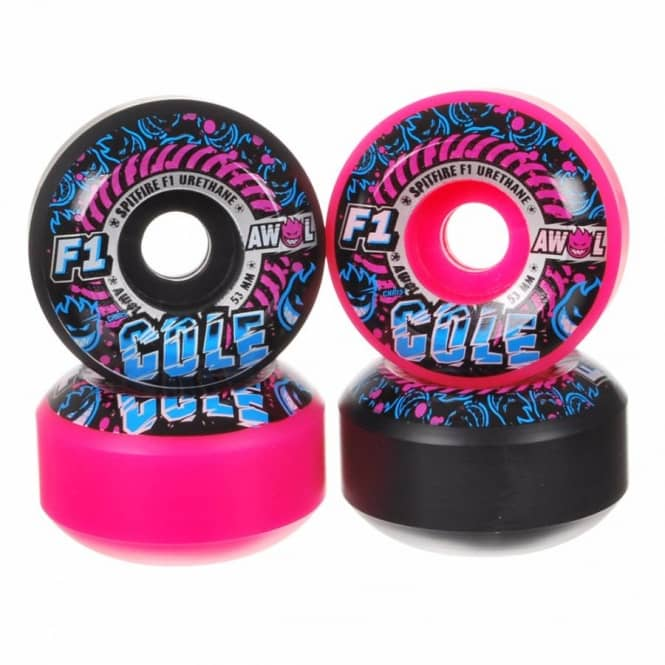 Spitfire Wheels Spitfire F1 Cole AWOL's Mash Up Skateboard Wheel 53mm