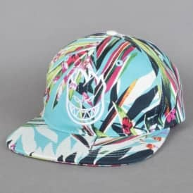 Bighead Floral Unstructured Strapback Cap - Floral