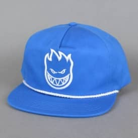 Spitfire Wheels Bighead Unstructured Snapback Cap - Royal Blue