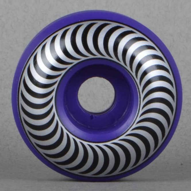 Spitfire Wheels Biohazard Classics Purple Skateboard Wheels 54mm