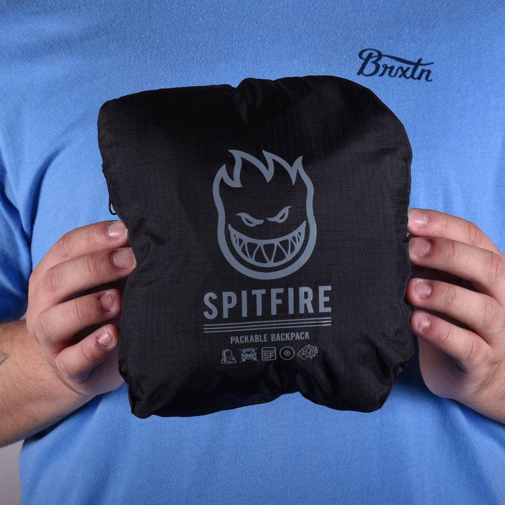 4e448d0b5b Spitfire Wheels Burn Division Packable Backpack - Black ...