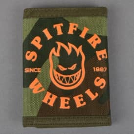 Spitfire Wheels Classic Bighead Wallet - Camo/Orange
