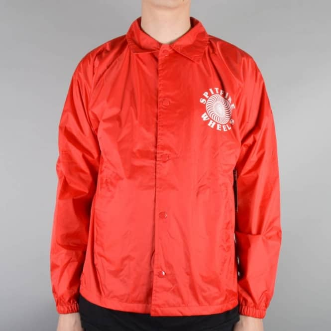 Spitfire Wheels Classic Coach Jacket - Red