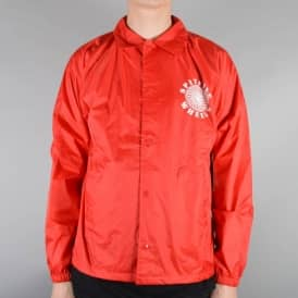 Classic Coach Jacket - Red