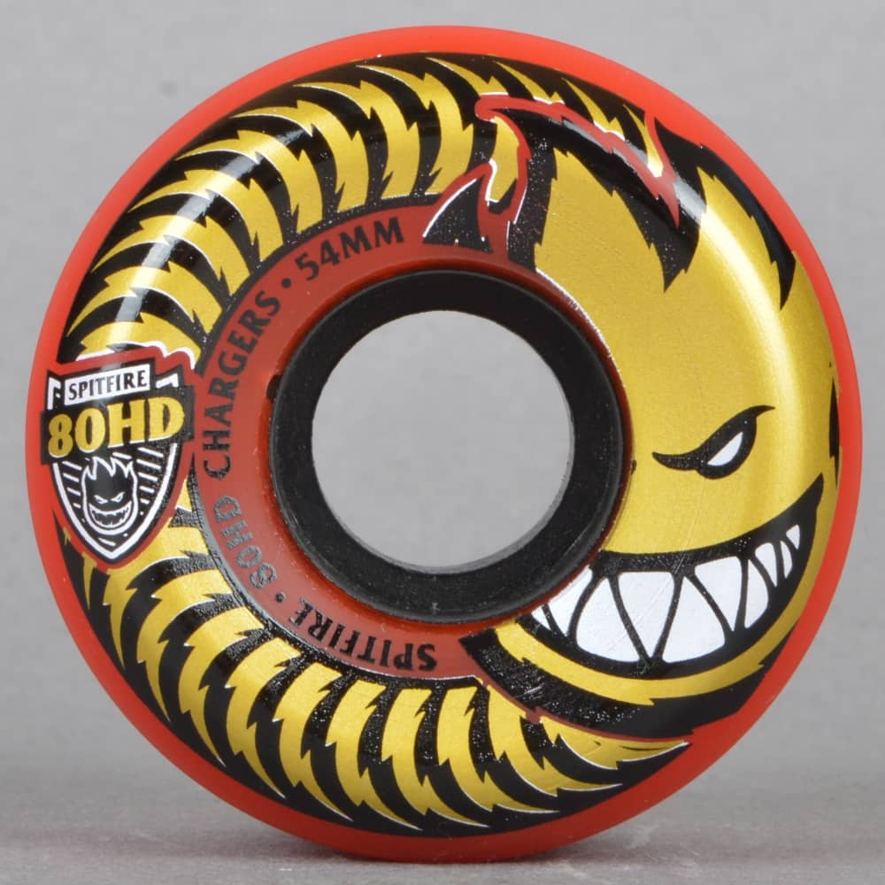 spitfire 80hd wheels. fire red 80hd chargers conical skateboard wheels 54mm spitfire 80hd a