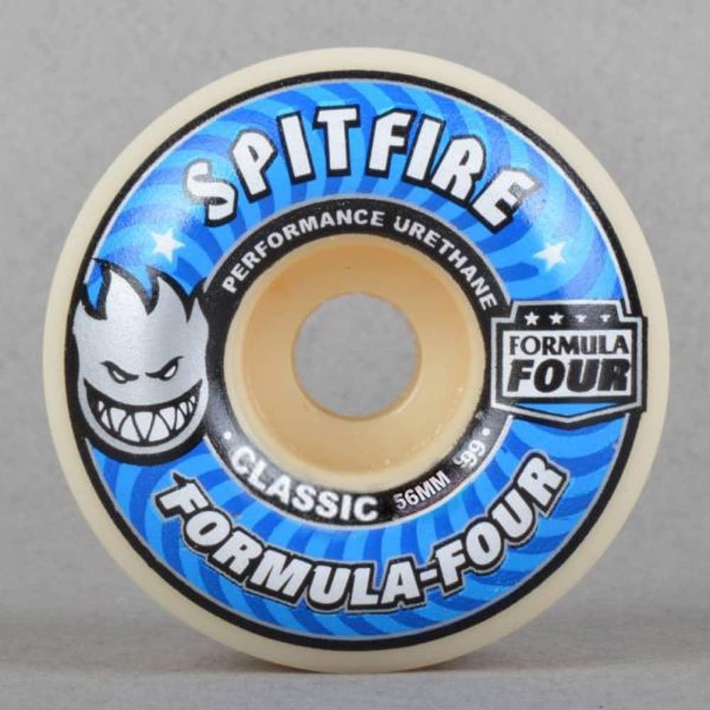 91ba9dbd69f Spitfire Wheels Formula Four Classic 99D Skateboard Wheels 56mm ...