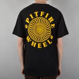 Spitfire Wheels OG Classic Pocket T-Shirt - Black