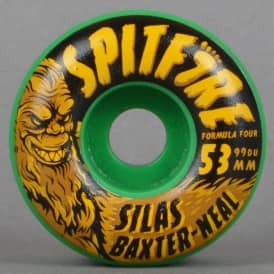 Silas Skunk Ape Radials Green 99D Formula Four Skateboard Wheels 53mm