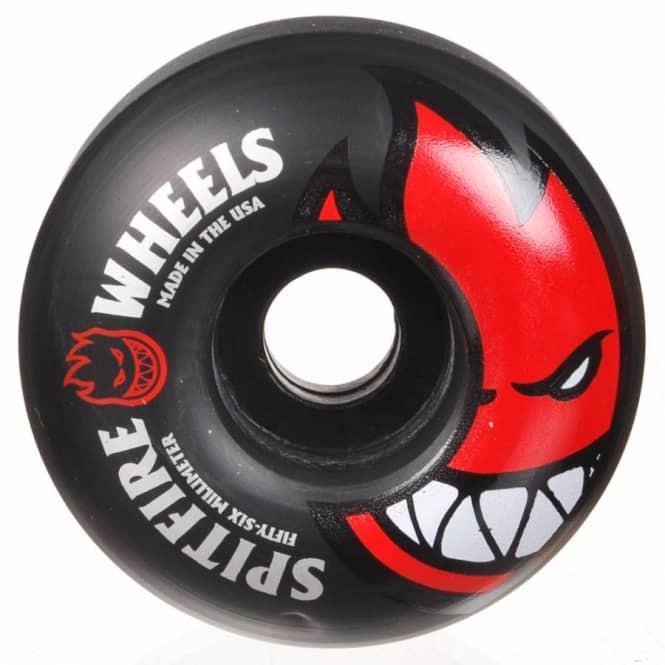 spitfire 56mm. spitfire bighead black skateboard wheels 56mm