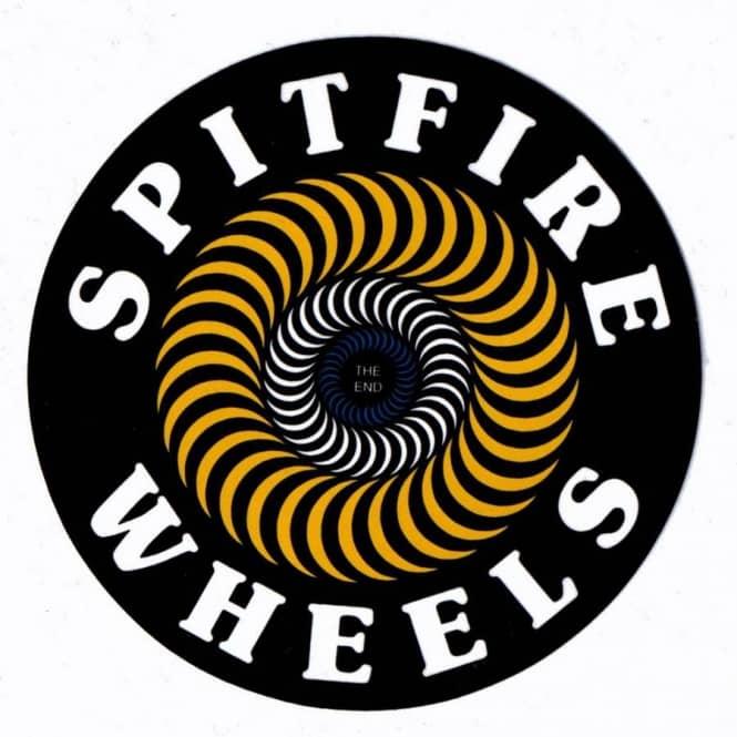 spitfire wheels spitfire classic swirl yellow skateboard
