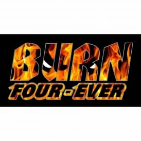 Spitfire F4 Burn Four Ever Skateboard Sticker