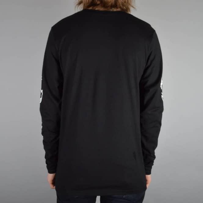 a1828a2168 Spitfire Wheels x Deathwish Long Sleeve Skate T-Shirt - Black ...