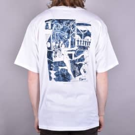 Stage Three Skate T-Shirt - White