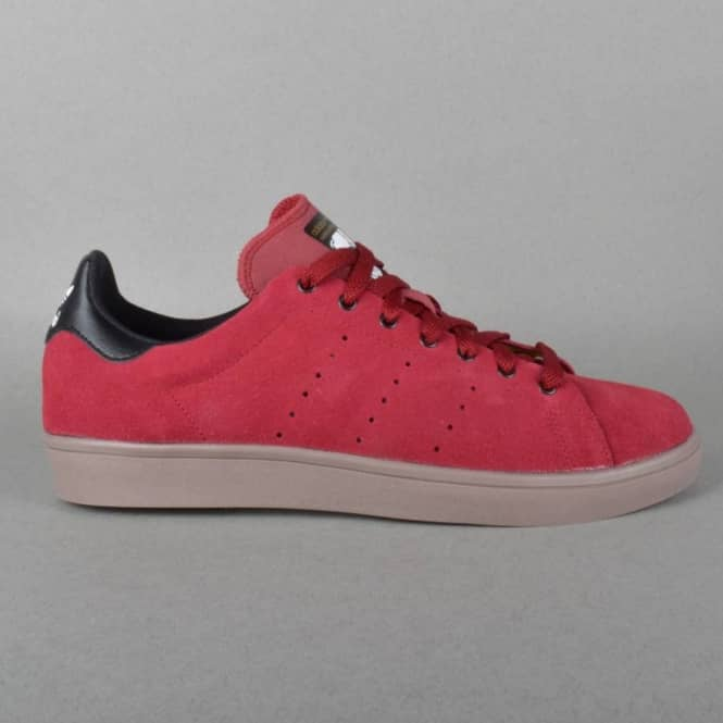 Adidas Skateboarding Stan Smith Vulc Skate Shoes - Cardinal/Black1/Gum5