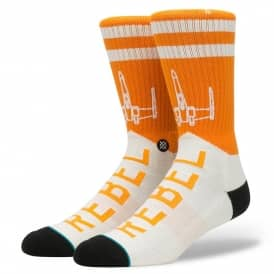 Stance Socks X Star Wars Varsity Rebel Socks - Orange