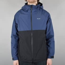 HUF Standard Shell Jacket - Navy/Black