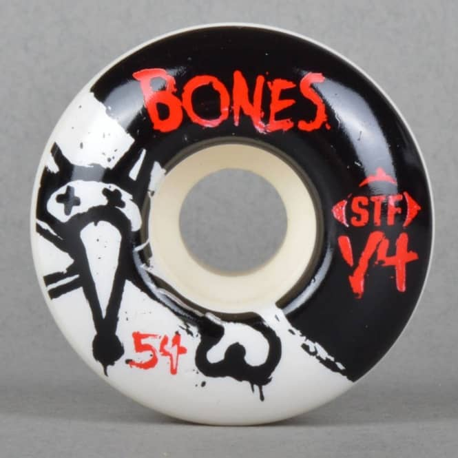 Bones Wheels Standard STF V4 Skateboard Wheels 54mm