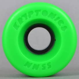 Star Trac Green 86A Skateboard Wheels 55mm