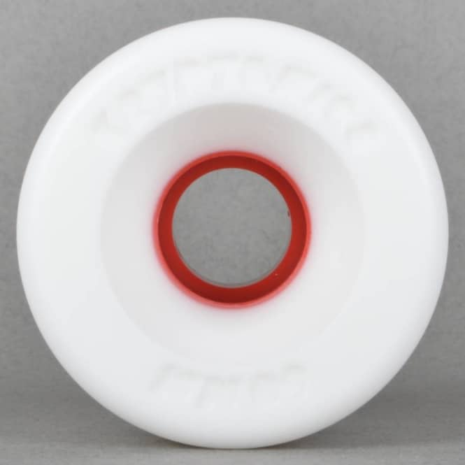 Kryptonics Star Trac White/Red 91A Skateboard Wheels 60mm