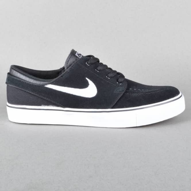 1f29347dcfcc Nike SB Nike SB Stefan Janoski (GS) Youth Skate Shoes -  Black White-Gum-Medium Brown