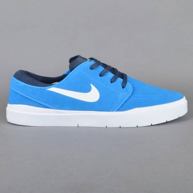 Nike SB Stefan Janoski Hyperfeel Skate Shoes - Photo Blue/White-Obsidian